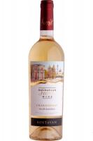 Вино Bostavan Chardonnay біле напівсолодке 0,75л х3