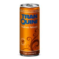 """Натуральний релакс-напій смак імбиря і лемонграсу, ТМ """"TranQuini"""",0,25л"""