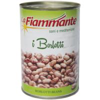 Квасоля La Fiammante борлотті ж/б 400г