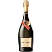 Вино ігристе Inkerman Мускатне біле напівсолодке 0.75л