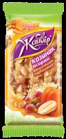 Козинак Жайвір асорті фруктово-горіховий 130г х40