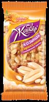Козинак Жайвір арахісовий з повітряним рисом 120г