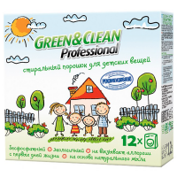 Порошок пральний Green&Clean для дитячих речей 1,2кг х6