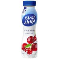 Йогурт Біла Лінія черешня 1,5% пет 250г