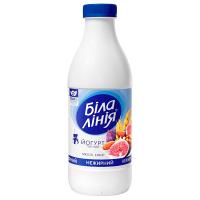 Йогурт Біла Лінія мюслі-інжир нежирний пет/пл. 900г