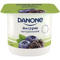 Йогурт Danone Чорниця-Ожина 2% 135г