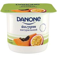 Йогурт Danone Папайя-Маракуйя 2% 135г