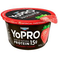 Йогурт Danone YoPRO Полуниця високопротеїновий 160г