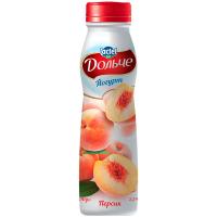 Йогурт Lactel Дольче з наповнювачем Персик 2,5% 290г