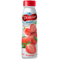 Йогурт Lactel Дольче Полуниця 2,5% 290г