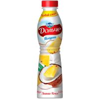 Йогурт Lactel Дольче Ананас-кокос 2,5% 500г