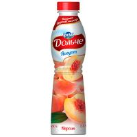 Йогурт Lactel Дольче Персик 2,5% 500г