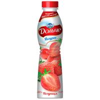 Йогурт Lactel Дольче Полуниця 2,5% 500г