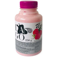 Йогурт LaGo з наповнювачем Малина 3,2% питний 250г