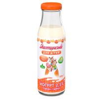 Йогурт Яготинське для дітей банан-гарбуз 2,5% с/п 200г
