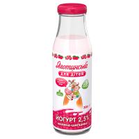 Йогурт Яготинське для дітей малина-шипшина 2,5% с/п 200г