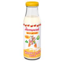 Йогурт Яготинське для дітей персик 2,5% с/п 200г