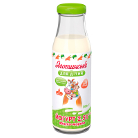 Йогурт Яготинське для дітей яблуко-морква 2,5% с/п 200г