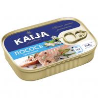 Лосось Kaija у власному соку ж/б 110г