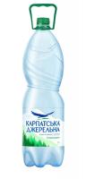 Вода мінеральна Карпатська джерельна слаб/газ 2л