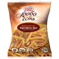 Картопля фрі Vici 9/9мм 750г