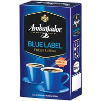 Кава Ambassador Blue Laber мелена в/у 230г