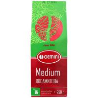 Кава Gemini Medium оксамитова мелена 250г
