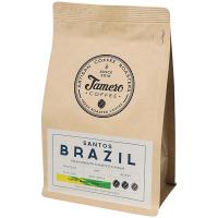 Кава Jamero Бразилія Сантос смажена мелена пак. 225г