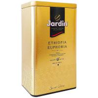 Кава Jardin Ethiopia Euphoria смажена мелена ж/б 250г