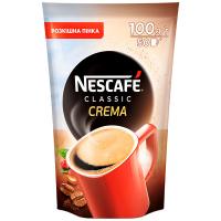 Кава Nescafe Classic Crema розчинна пак. 100г