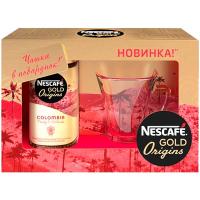 Кава Nescafe Gold Origins Colombia розчинна 100г + чашка