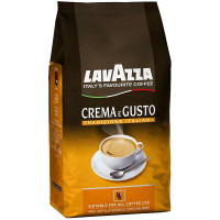 Кава в зернах Crema e Gusto Lavazza Італія 1000г
