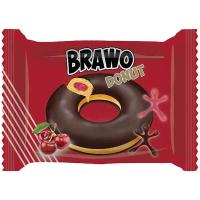 Кекс Ani Brawo Donut з вишневою начинкою 50г