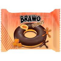 Кекс Ani Brawo з карамель начинк. у какао-мол. глаз 50г