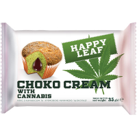 Кекс Happy Leaf Choko Cream With Cannabis 35г