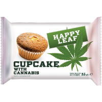 Кекс Happy Leaf Cupcake With Cannabis 35г