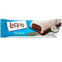 Кекс Luppo Delish какао та марш.в кокос. стружкою 36г