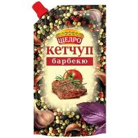 Кетчуп Щедро Барбекю д/п 250г