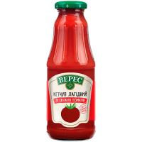 Кетчуп Верес лагідний зі свіжих томатів 345г