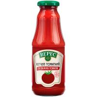 Кетчуп Верес томатний зі свіжих томатів 345г