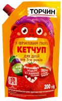 Кетчуп Торчин з фруктовим пюре 200г