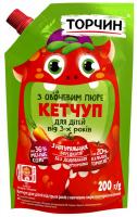 Кетчуп Торчин з овочевим пюре 200г