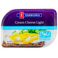 Крем-сир Emborg Натуральний легкий 30% 200г