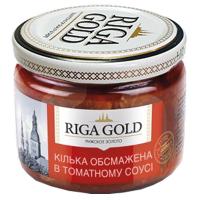 Кілька Riga Gold балтійська обсмажена в т/с с/б 280г