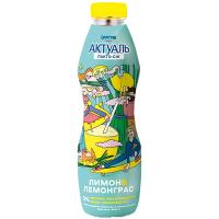 Кисломолочний продукт Danone Актуаль Лимон-Лемонграс 580г