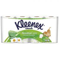 Туалетний папір Kleenex Aroma Care ромашка 3шари 6*2шт