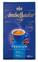 Кава Ambassador Premium мелене 450г