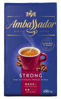 Кава Ambassador Strong мелена 450г