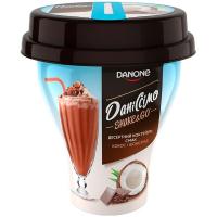 Коктейль Danone Даніссімо йогуртний Шоколад-кокос 5,2% 260г