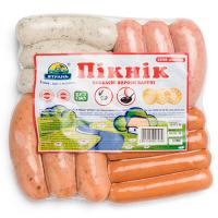 Ковбасні вироби варені набір Пікнік ТМ Ятрань Україна